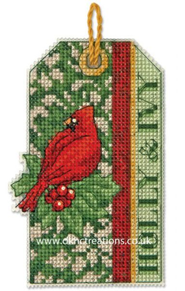 Holly And Ivy Ornament Cross Stitch Kit